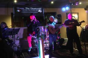 Performance by Irish Band, Share the Darkness at the Mayor's Irish Night in the Park Head Hotel