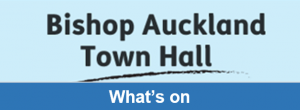 Bishop Auckland Town Hall, Whats On Button
