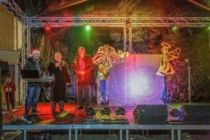 Bishop Auckland Christmas 2018, Mayor David Fleming on Stage