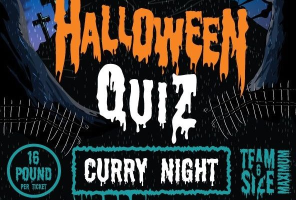 Halloween Quiz and Curry Night Thumbnail, Monday 28th October