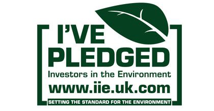 Investors in the Environment Pledge Badge