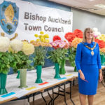 Mayor Joy Allen at the Horticultural Show