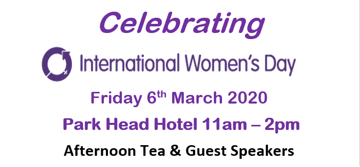 International Women's Day Event Thumbnail, 11am on 6th March 2020