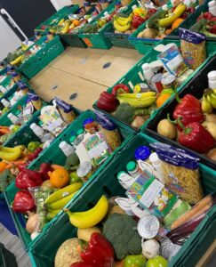 Food hampers from Angel Trust