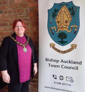 Councillor Eliot, Mayor of Bishop Auckland