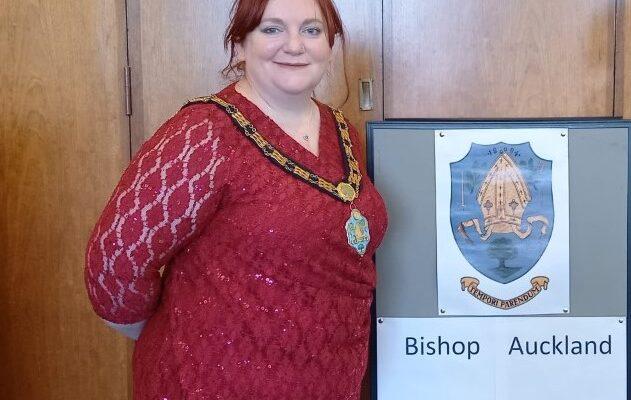 Councillor Katie Eliot, Mayor of Bishop Auckland