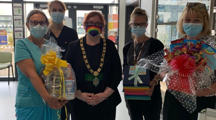 Hamper delivery to Auckland Medical Group